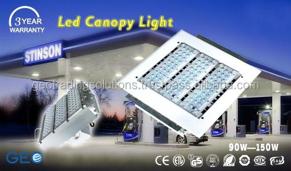 Gas Station Led Canopy Lighting