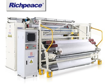 Richpeace Computerized Multi-needle Rotary Hook Quilting Machine