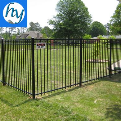 privacy iron fence Private property fences process fence