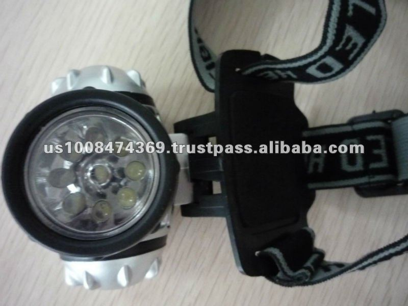 Super-lite 9 Led Headlamp With Ultra Bright Led Bulbs And ...