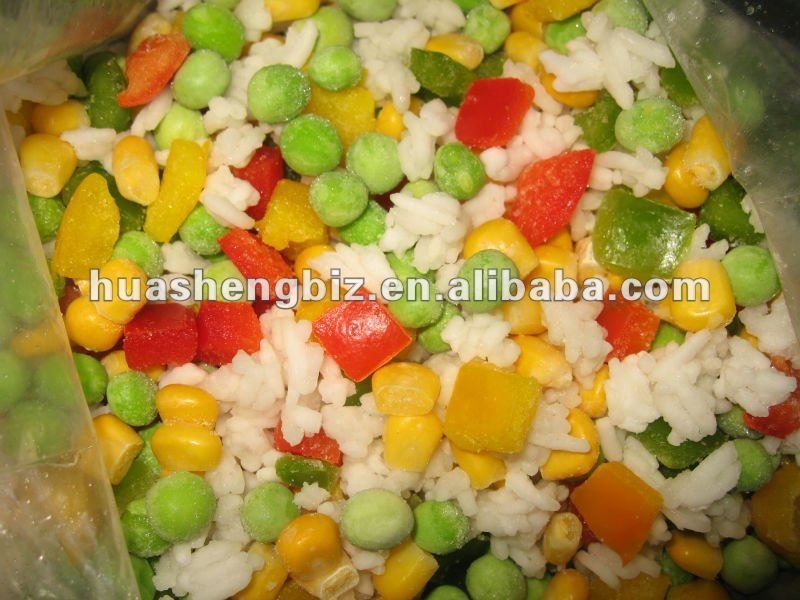 wholesale Deep Frozen mixed vegetables
