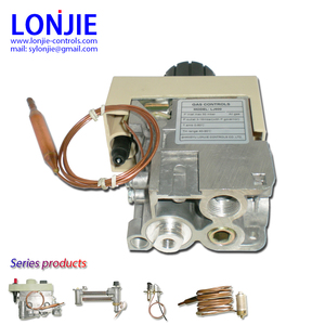 Gas combination controls, as 630 EUROSIT thermostatic multifunctional gas control valve