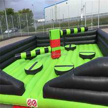 Inflatable wipeout ,eliminator mechanical rodeo game Riding Machine/Mechanical Rodeo Bull