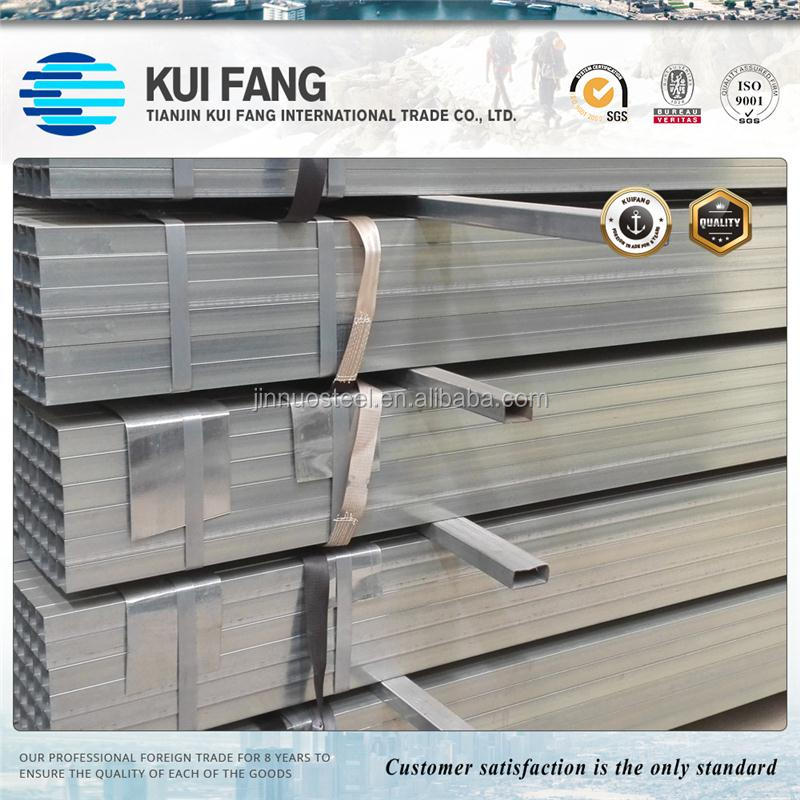 Pre gi zinc coating square galvanized hollow section steel pipe