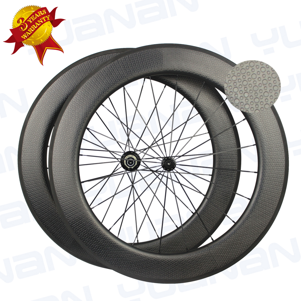 dimple surface 45 50 58 80mm Depth clincher carbon wheelset taiwan