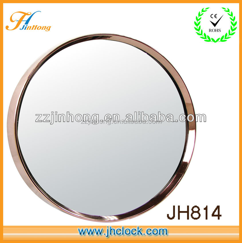 modern 14 inch round wall mirror for dressing