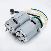 Powerful 775 12v 24v 36v high speed 20000rpm micro dc brushless motor fan motors