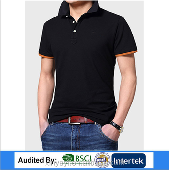 61cb8419 Best selling different collar and cuff polo tshirt Men clothes For Chinese  Garment Factory Wholesale