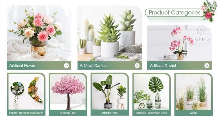 Indoor Decoratieve Real Touch Tropische Groene Planten Kunstmatige Banaan Palm Eucalyptus Monsteras Bladeren voor Verkoop
