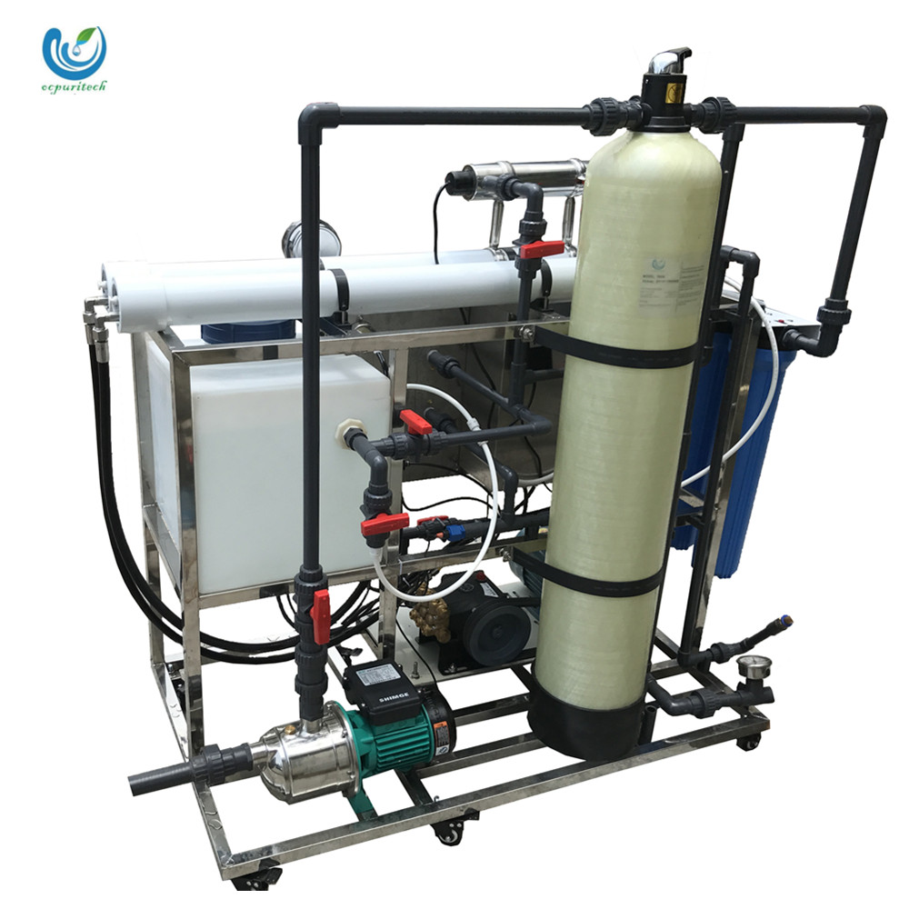 100LPH Professional design free technical support desalination plant sea water for sea water desalination system