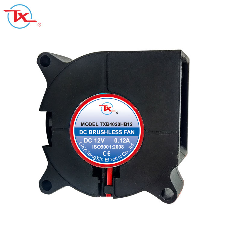 Low Noise DC Motor 12V Blower 40x40x20mm 4020 Small Industrial Brushless Fan