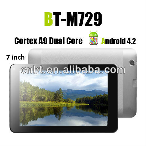 7 inch best selling tablet pc android driver with HD screen