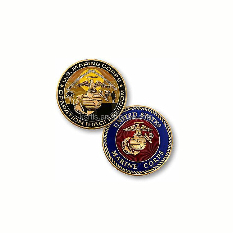 kunshan rightlase professional custom gold metal military challenge coin souvenir gifts