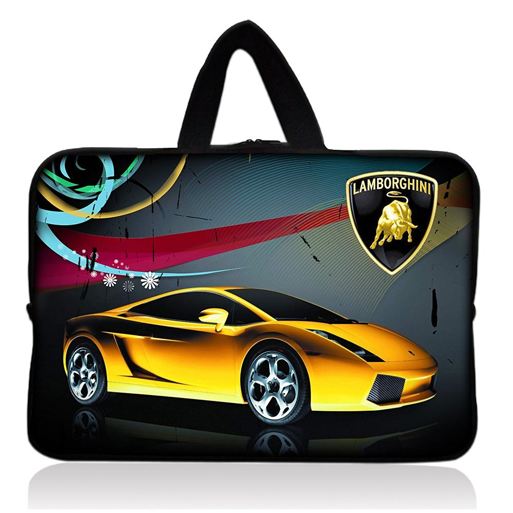 "Cool Car Fashion HOT 7"" Neoprene Tablet Sleeve Pouch Case Bag w/ Handle For 7"" iRulu Android 4.2 Tablet PC /Samsung Galaxy Tab 3 7"" Android Tablet /7.9"" Apple iPad mini Tablet /Ematic 7"" Google Android 4.2 Tablet /Proscan 7"" Android 4.0 Touchscreen Tablet /Barnes & Noble NOOK Tablet 7"" Touchscreen"