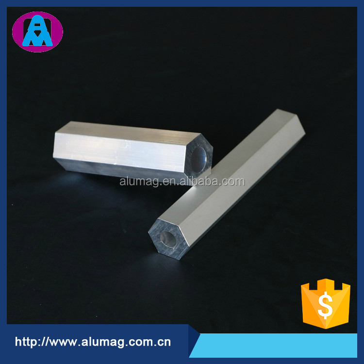 Qualified China OEM factroy hexagonal aluminum extrusion