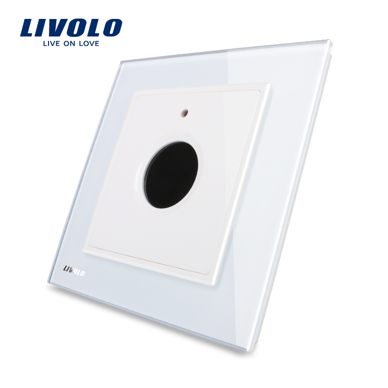 Wholesale Livolo Luxury Golden Crystal Glass Panel 30s Timer Delay ...