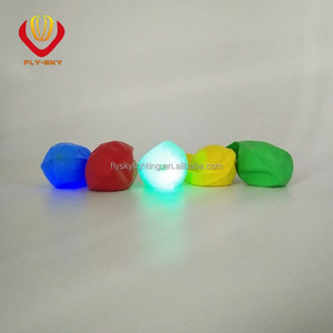 Holiday decoration glow in the dark luminous pure latex led balloon coloful flashing as rainbow novelty products for Kids fun