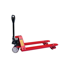 3000kg double steering wheel hand pallet truck
