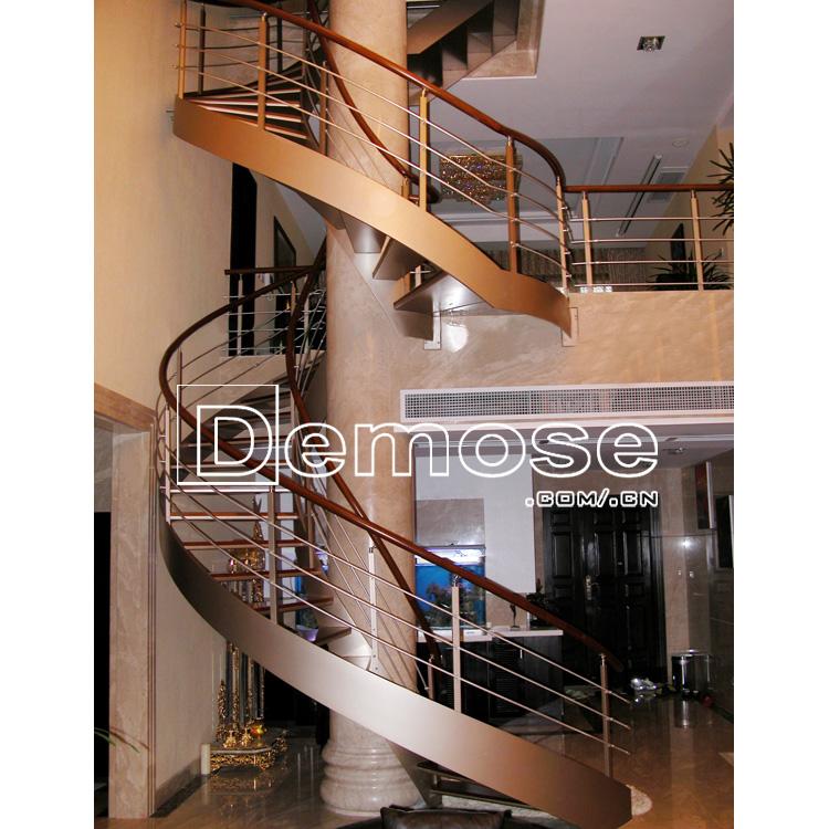 Venta al por mayor diseño de escaleras de interior de madera-Compre ...