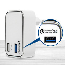 QC3.0 <span class=keywords><strong>Lader</strong></span> 23 W USB Snelle <span class=keywords><strong>Lader</strong></span> EU UK <span class=keywords><strong>Korea</strong></span> Plug Qualcomm Quick Charge 3.0 Draagbare Reislader