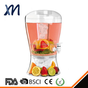 High Quality Guarantee Certification Approved Customized Cold Beverage Dispenser Plastic Drink Dispenser