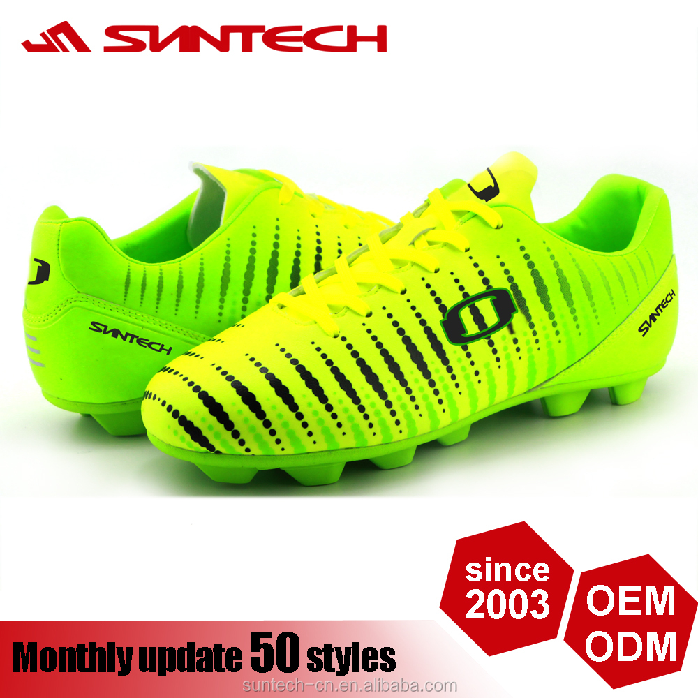 2016 latest customized brand men's cheap soccer shoes football