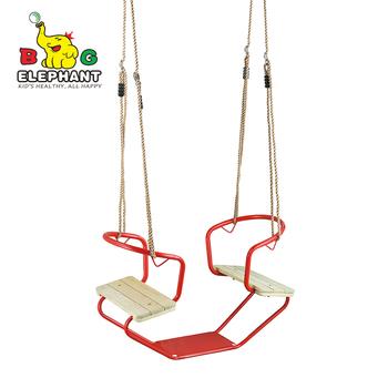 sgs qingdao garden glider metal double swing - Qingdao Garden