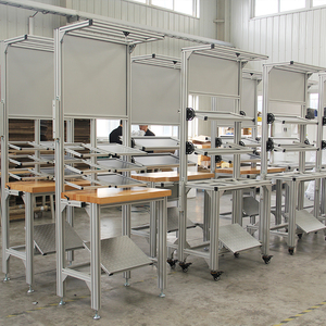 t slotted aluminium profile modular assembly workshop work table