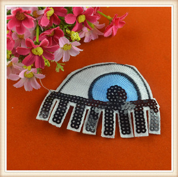 73904b171536a 2016 Fashion Sequin Eye Patch/custom Patches Embroidery /applique For Kids  Clothes/garments/blouses - Buy Sequin Patch,Custom Embroidery Patches ...