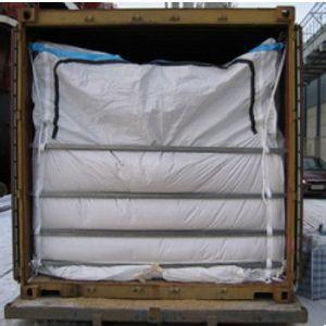20 ft Container Dry bulk liner with zipper for granular or power