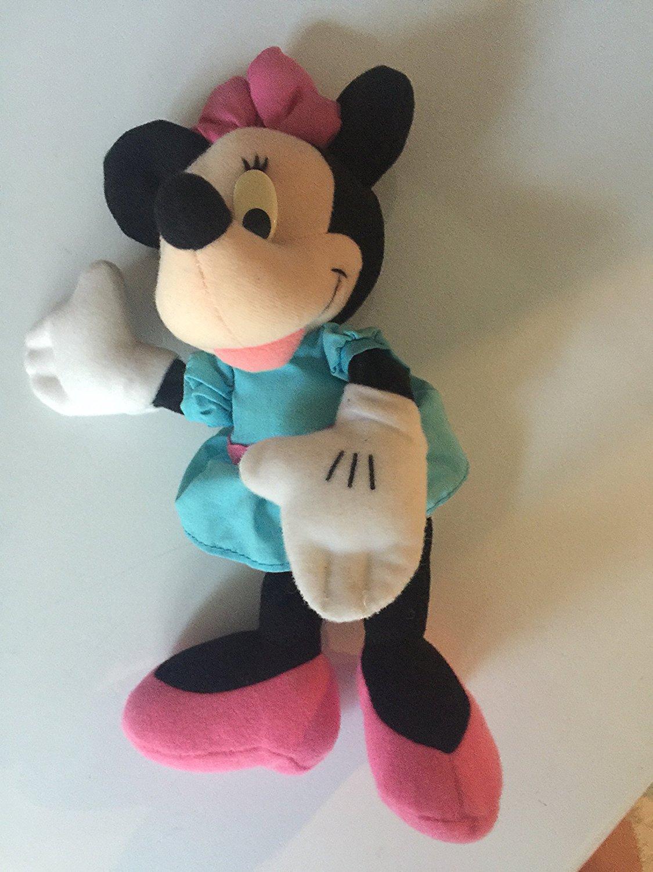 "9"" Disney ""Minnie Mouse"" Plush Beanie Baby"