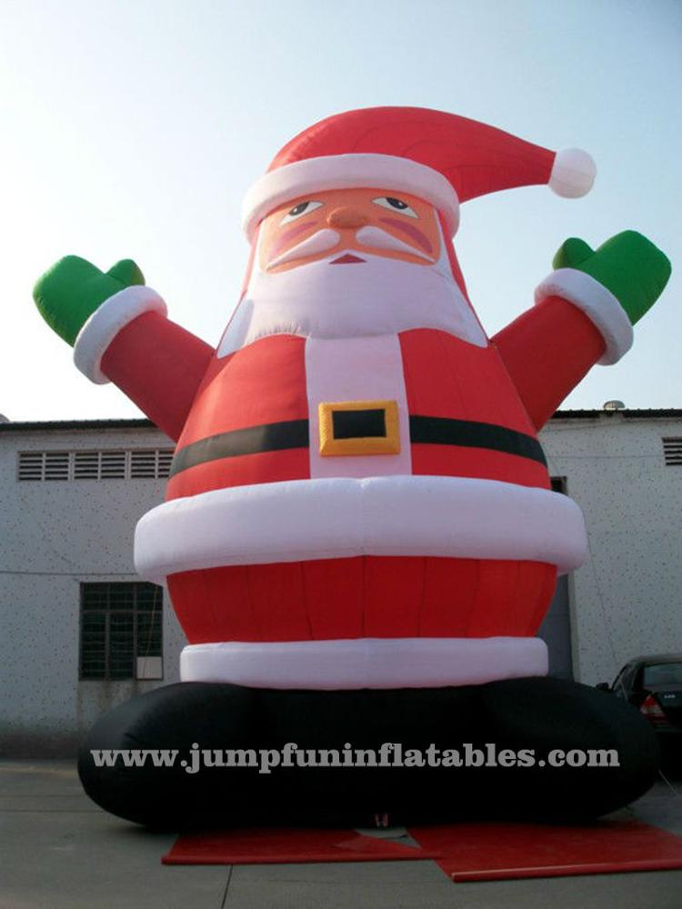 JFCH-84 Giant_Inflatable_Cartoons_Giant_Inflatable_Santa_Claus