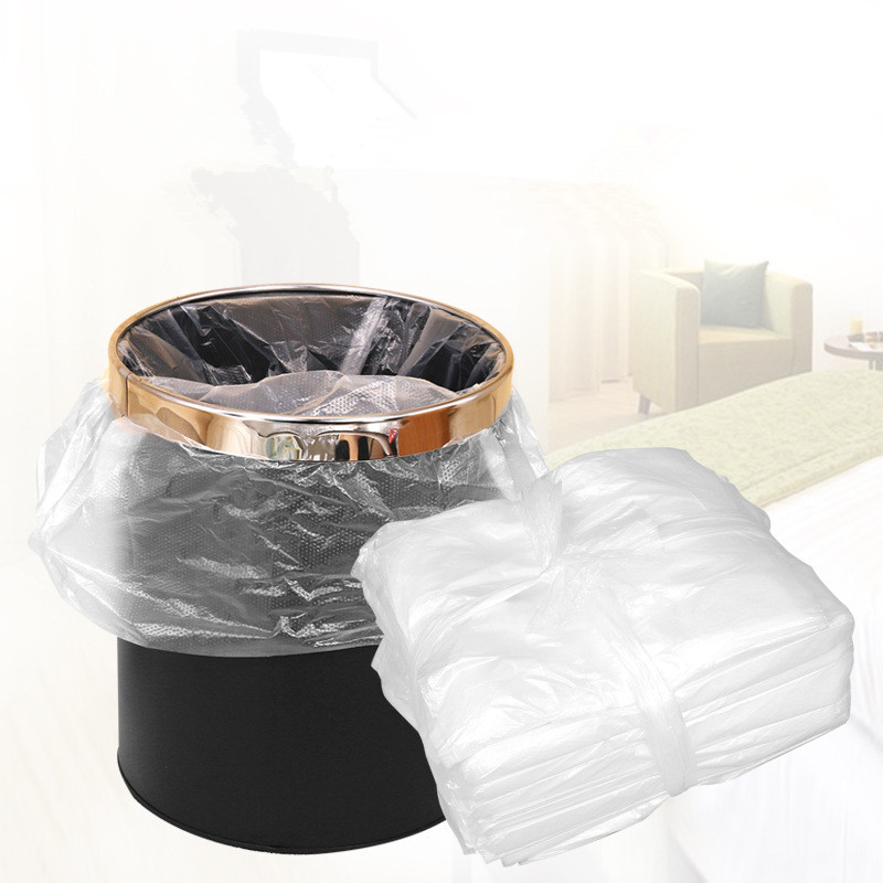 Gallon Clear Small Garbage Bags Bathroom Trash Bags Wastebasket Liners for Hotel Home and Office