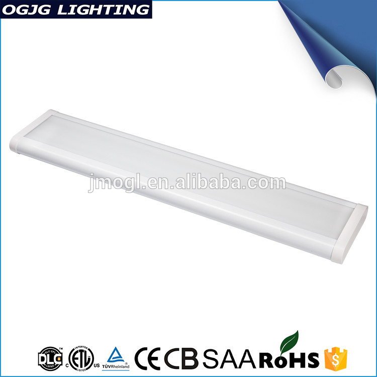 Etl Listed White Coated Luminaire Acrylic Cover Commercial Office Pendant Fixture Recessed Led Linear Light
