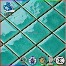 good quality green lantern mosaic tile big size porcelain tile first choice glazed cheap swimming pool tile