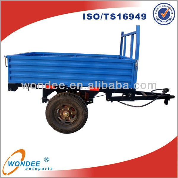 Hot Sale 3 TON Agricultural Farm Tipping Trailer for Sale