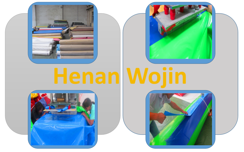Inflatable equipment produce process details