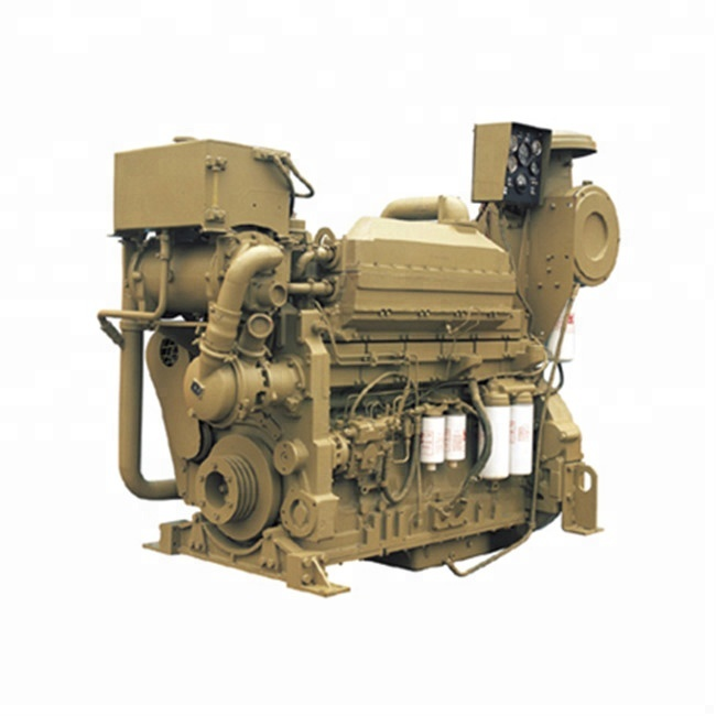 700HP 6 cylinder 19L water cooling Cummins KTA19-M700 boat ship marine diesel <strong>engine</strong>