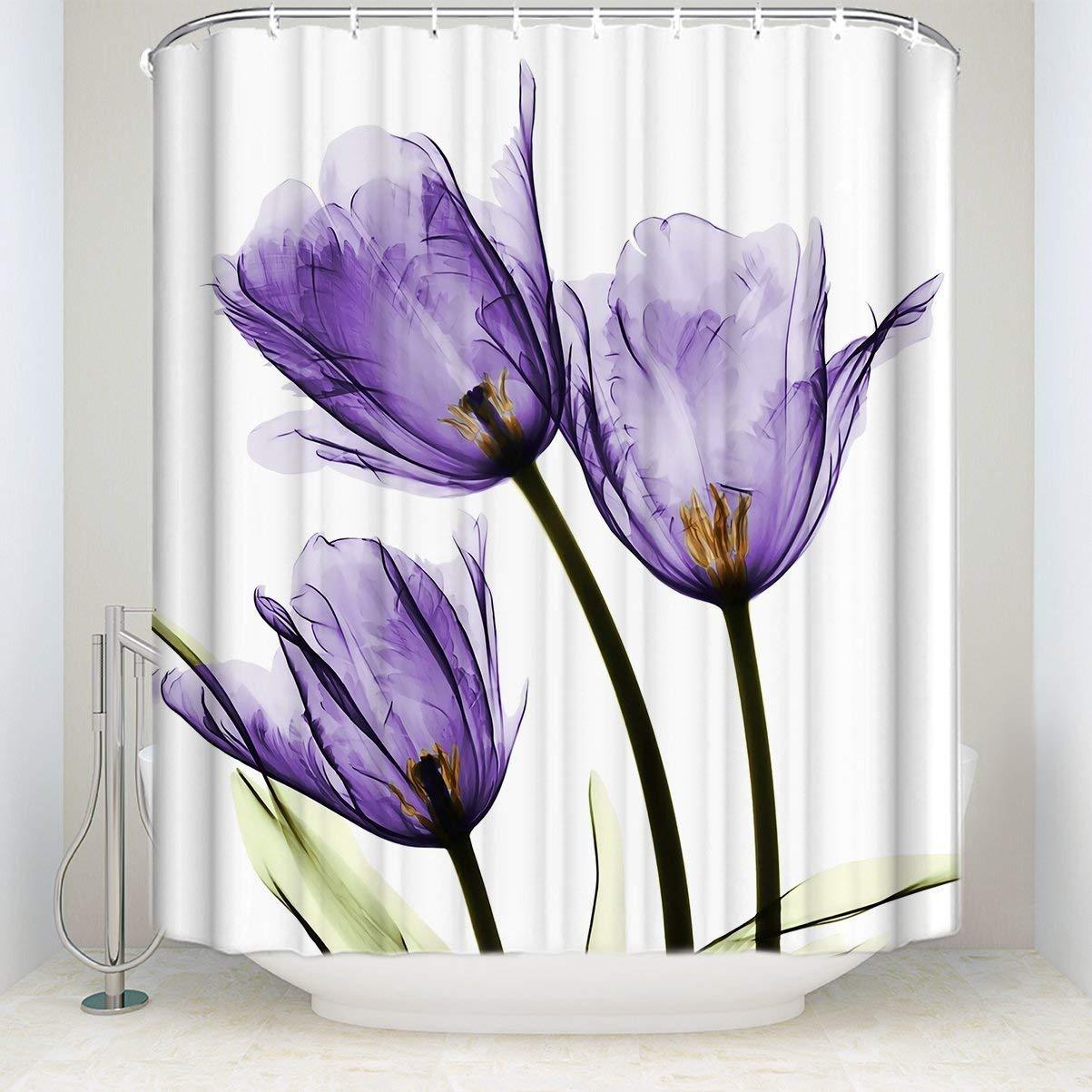 Shower Curtains Rose Memory Style Design Custom Shower