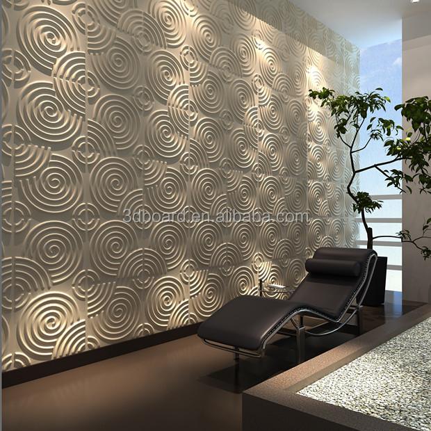 Fibra di bamb pannello decorativo effetto moderna 3d for Carta da parati effetto mattoni