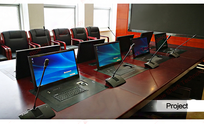 Afstandsbediening LCD monitor pop-up tv lift voor conference system interieur