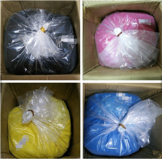 Colored Bulk Toner Powder MP C4000 C5000 for Ricoh MP C4000 C4501 C5000 C5501 Copier