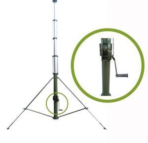 Best China SUPPLIER ham radio antenna towers with hand winch for wholesales
