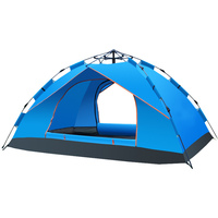 Folding tent Trailer Outdoor Camping Hiking Travel Beach Aluminium Rod Wind Resistant Camping Tent
