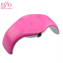 LED Lamp Nail Art  Dryer Nail Lamp Watch Shaped Long Life 9W LED Curing for Gel Polish Nail Art Beauty Care Manicure Tools