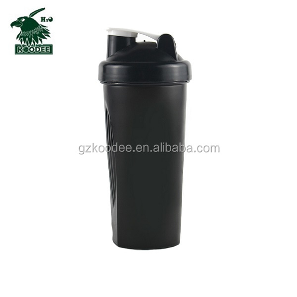 High quality fashion plastic protein shaker water bottle
