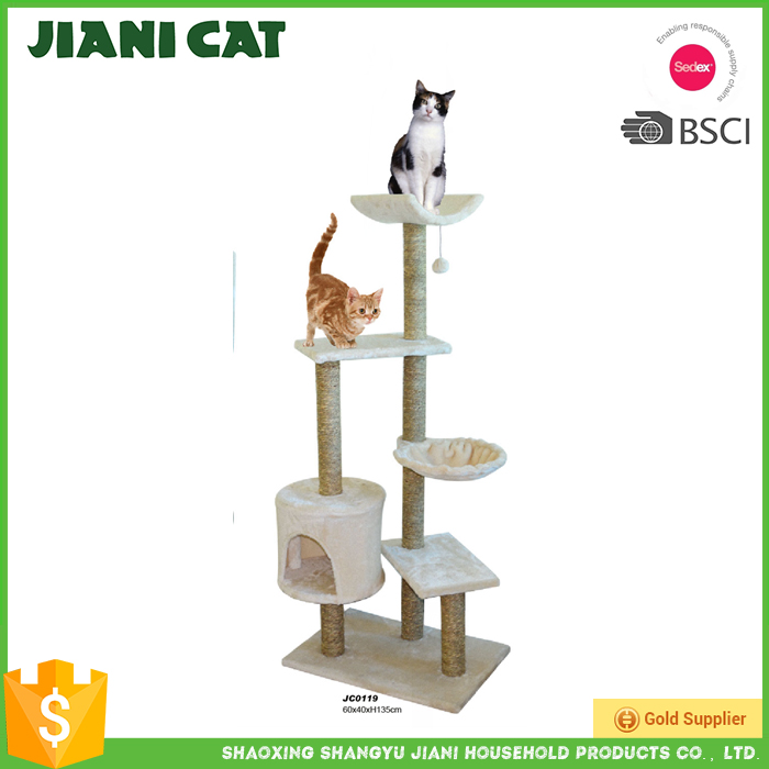 2016 Competitive Hot Product Large Cat Tree House