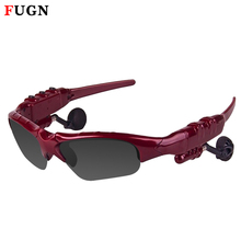 Wireless bluetooth sunglasses with headset bluetooth handfree earphone glasses