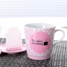 porcelain mug with infuser para ceramic coffee tasting of cafe tazas de milk cup for tea