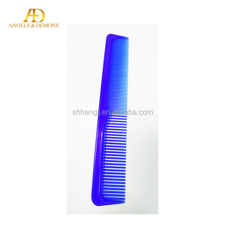 Factory Hot sale PS plastic hair comb flat comb personalized hair comb
